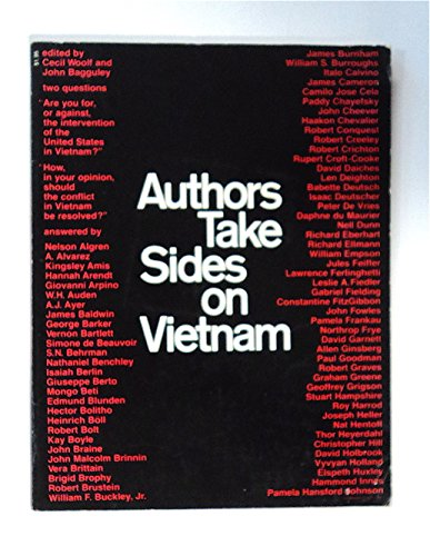9780720606188: Authors Take Sides on Vietnam