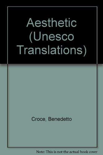 9780720606355: Aesthetic (Unesco Translations)