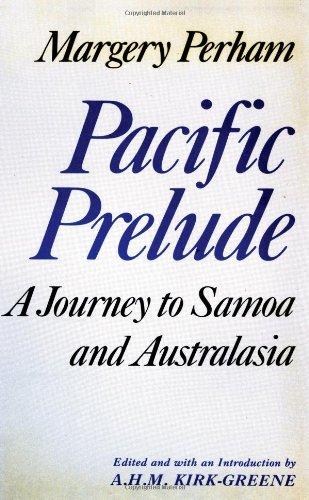 Pacific Prelude: A. H. M. Kirk-Greene