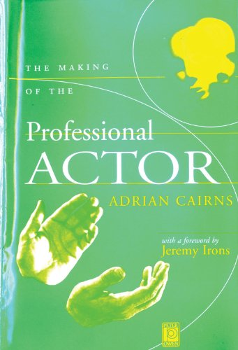 9780720610024: The Making of the Professional Actor