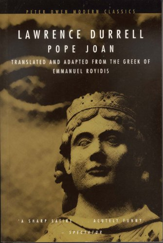 9780720610659: Pope Joan: Translated and Adapted from the Greek of Emmanual Royidis (Peter Owen Modern Classics)