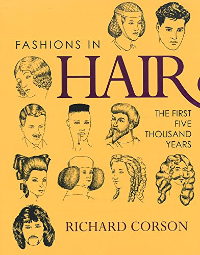 9780720610932: Fashions in Hair: The First Five Thousand Years