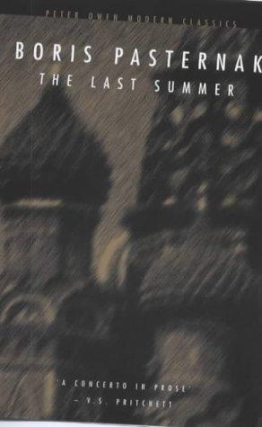 9780720610994: Last Summer (Peter Owen Modern Classic)