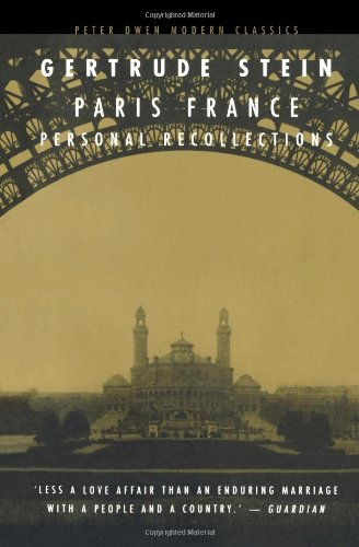 9780720611977: Paris France: Personal Recollections (Peter Owen Modern Classic)