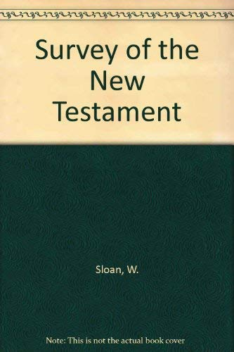 9780720676501: Survey of the New Testament