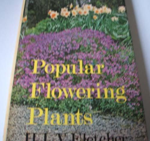 9780720703252: Popular Flowering Plants