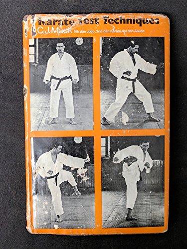 9780720704419: Karate Test Techniques