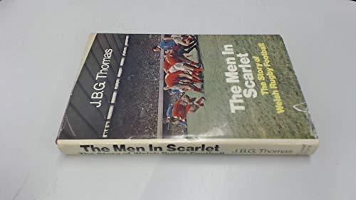 9780720704518: Men in Scarlet: Story of Welsh Rugby Football