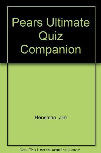 9780720718126: Pears Ultimate Quiz Companion