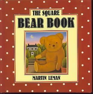 The Square Bear Book: Leman, martin