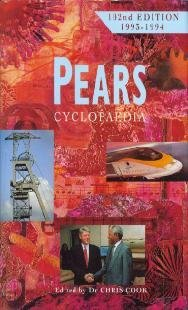 9780720720242: 1993 - 1994 Pears Cyclopaedia 102nd Edition