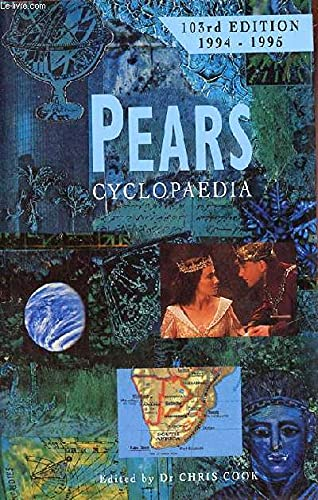 9780720720372: Pears Cyclopaedia, 1994-95. A Book of Background Information and Reference for Everyday Use.