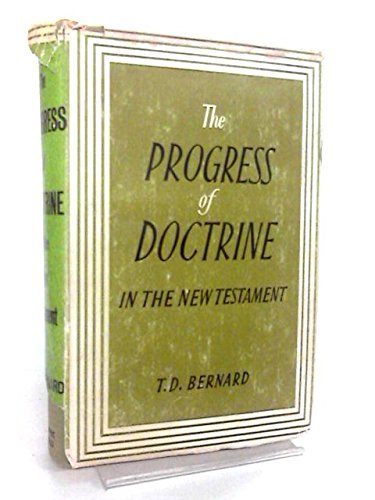 9780720800135: Progress of Doctrine in the New Testament (Bampton lecture, 1864)