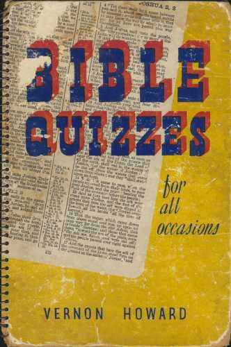 9780720800197: Bible Quizzes for All Occasions