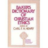 9780720803563: Baker's Dictionary of Christian Ethics