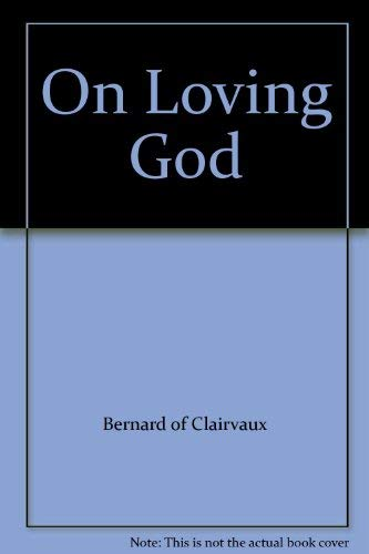 9780720805567: On Loving God