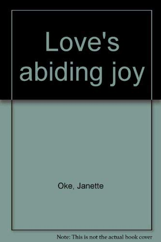 9780720806663: Love's abiding joy