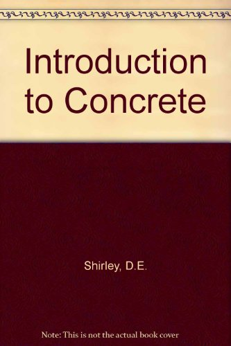9780721009964: Introduction to Concrete