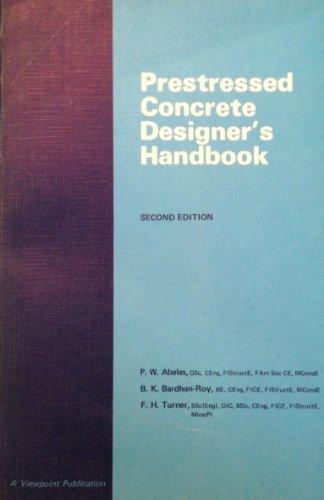 9780721010281: Prestressed Concrete Designers Handbook (A Viewpoint publication)
