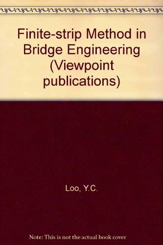 9780721010410: Finite-strip Method in Bridge Engineering