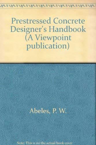 9780721012322: Prestressed Concrete Designer's Handbook