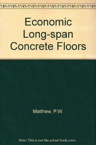 9780721013862: Economic Long-span Concrete Floors