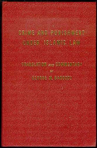 9780721205908: Crime and Punishment Under Islamic Law