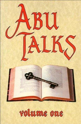 9780721208824: Abu Talks: Through the Medium W.F.Rickard v. 1