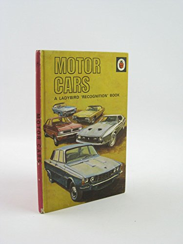 9780721403304: Motor Cars (A ladybird recognition book. series 584)