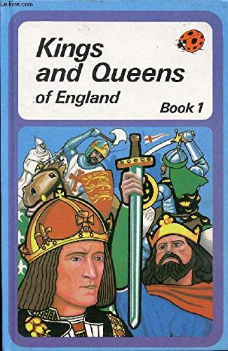 Kings and Queens of England: Book 1: Ladybird Books, Brenda