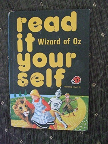 Read It Yourself - Ladybird Books X4: The Wizard of Oz, Snow White & the Seven Dwarfs, Gingerbread Man, Pied Piper of Hamelin