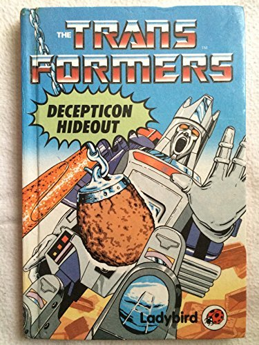 TRANSFORMERS - Ladybird Mini series, all New UK series = DECEPTICON HIDEOUT