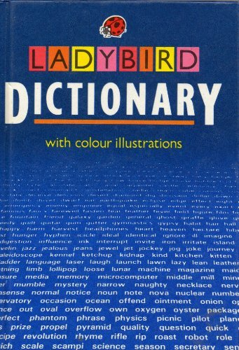 Ladybird Dictionary (Reference library): Ladybird