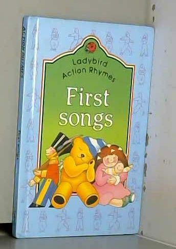 9780721411224: First Songs (Ladybird Action Rhymes)