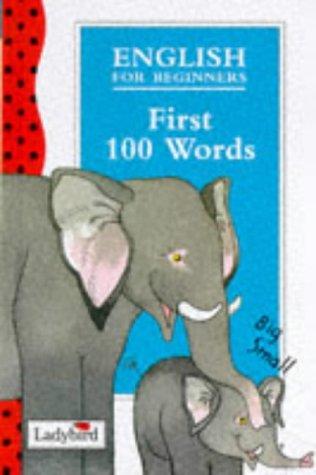 9780721417349: First 100 Words (Ladybird English)