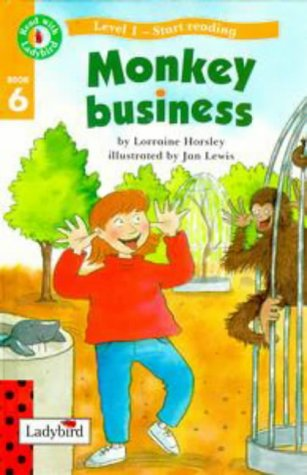 9780721418858: Read With Ladybird 06 Monkey Business