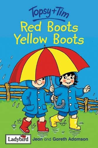 9780721419329: Topsy And Tim Red Boots Yellow Boots (Topsy & Tim Storybooks)