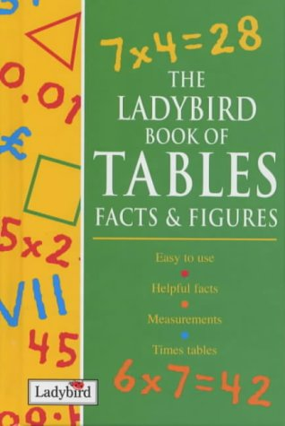 9780721421056: The Ladybird Book of Tables, Facts and Figures