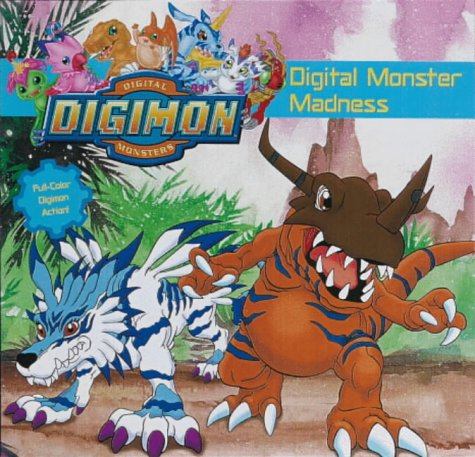 9780721421711: Digimon Digital Monsters: Digital Monster Madness! (Learn to Read)