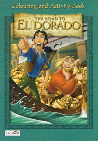Eldorado: Colouring Book (0721421970) by Walt Disney Productions