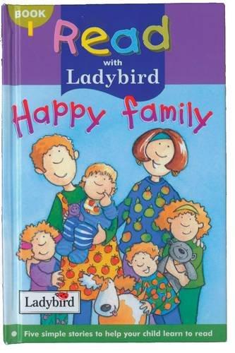 9780721423777: Happy Family (Read with Ladybird)