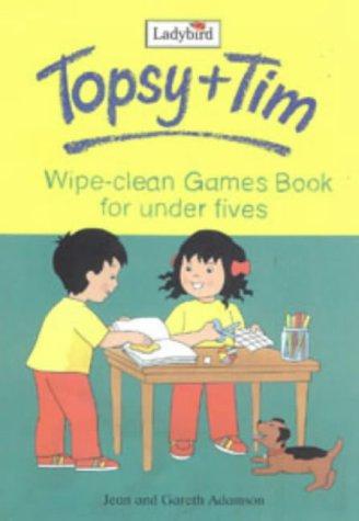 9780721426396: Topsy and Tim: Wipe Clean Gamebook: Wipe-clean Gamesbook