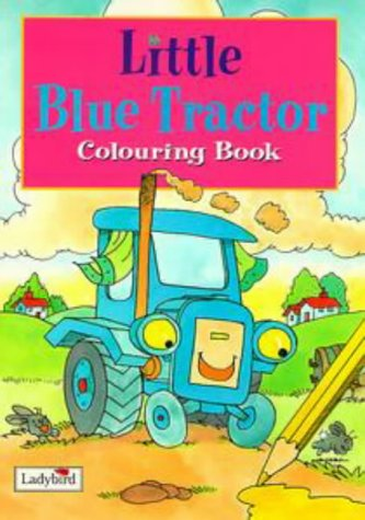 9780721427515: Little Blue Tractor: Colouring Book (Little Stories)