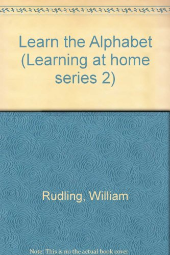 9780721431611: Alphabet (Learning at home series 2)
