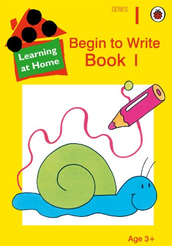 9780721433455: Begin to Write Book: 1 (Learning At Home) (Bk.1)