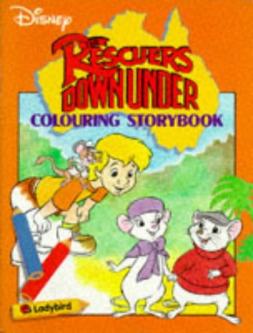 9780721440873: The Rescuers Down Under: Colouring Storybk (Colouring storybook)