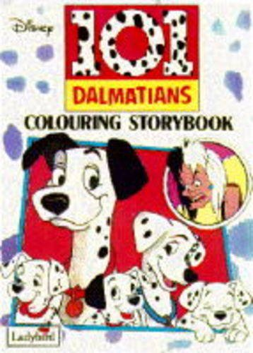 9780721444390: Hundred and One Dalmatians (Disney Colouring Storybook)
