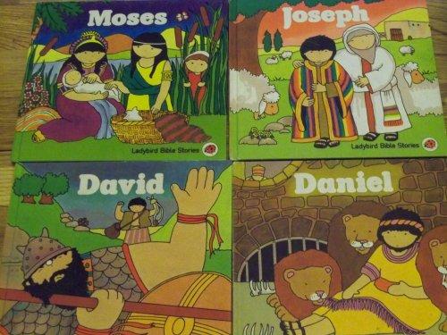 9780721450704: Ladybird First Bible Stories Boxed Set: Noah's Ark, Moses, Joseph, David & Daniel