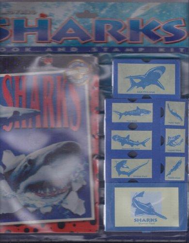 9780721457574: Sharks Book and Stamp Kit (Ladybird Explorers)
