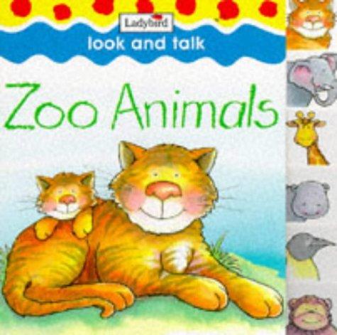 9780721463865: Zoo Animals (Look & Talk Board Books)